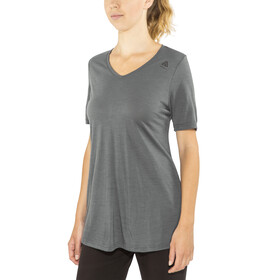 Aclima W's LightWool Loose Fit T-Shirt iron gate